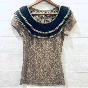 A'Reve Lace Top